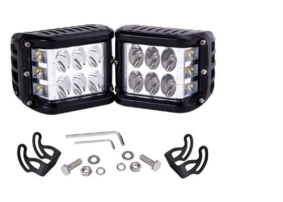Colorful 4x4 LED Pods 60 Watt Three Model For Offroad ATV Motorbycycle