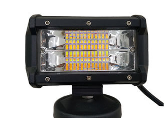 Mini 5 Inch Amber LED Strobe Light Bar , Off Road LED Light Bar Strobe