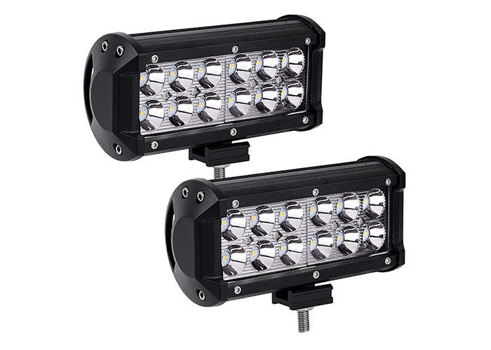 Dual Row Cree LED Driving Lights High Brightness 2520 Lumens OEM Service
