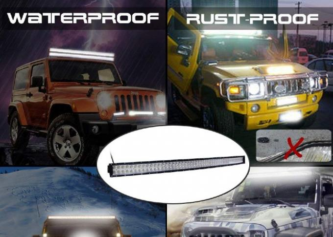 Side Mounting Auto LED Light Bar High Power 312W IP67 Waterproof